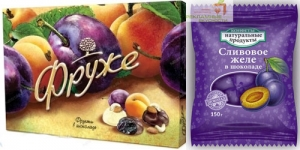 Вкусные и полезные подарки с логотипом - фруктовые конфеты Фруже