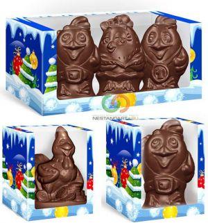 Шоколадный петух — символ 2017 года