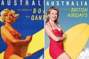 Известная актриса Наоми Уоттс снялась в рекламной компании в стиле пин-ап