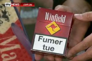 Изображение кенгуру на пачках сигарет стало причиной судебных разбирательств