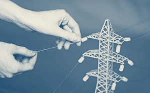 В дизайн-студии Oblako создали модели вышек электропередачи