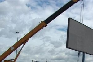 В Туле за неделю демонтировали 117 незаконных рекламных конструкций