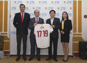 ZTE останется технологическим спонсором  ФК «СЕВИЛЬЯ» еще на два сезона