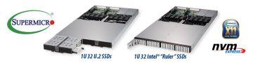 Supermicro представляет петабайтные сервер 1U и JBOF