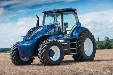 New Holland Agriculture представляет концепт трактора, работающего на метане