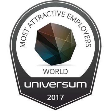 Компания Universum публикует рейтинг наиболее привлекательных работодателей мира 2017 г