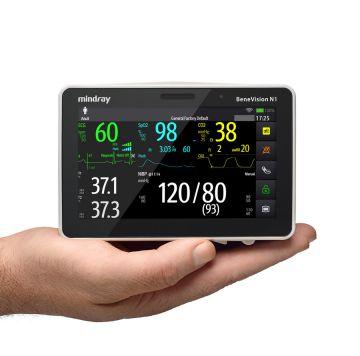 Mindray представляет прибор BeneVision N1, обеспечивающий бесперебойный мониторинг состояния пациента в процессе транспортировки