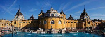 Термальные купальни Сеченьи от туроператора Budapest Spas cPlc. Компания получила международный сертификат качества