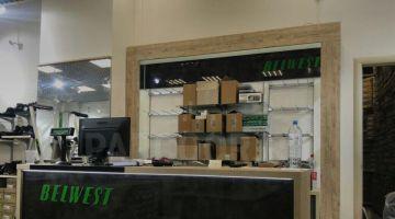 Оформление еще одного магазина BELWEST в Екатеринбурге