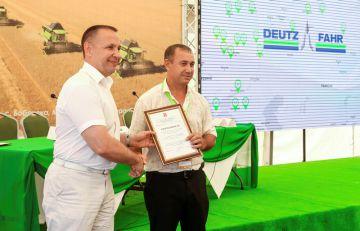 Сотрудников холдинга «Солнечные продукты» наградили за вклад, внесённый в развитие сельского хозяйства