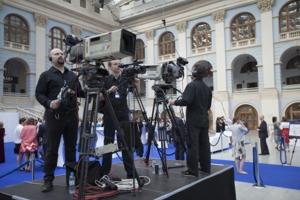 Видео-трансляции мероприятий на экраны и в интернет