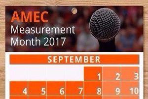 Россия поддерживает инициативу общедоступных вебинаров об эффективности PR - AMEC Measurement Month