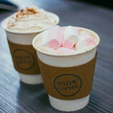 В торговом центре «Мебельный Базар» появилось кафе «Snow Coffee»