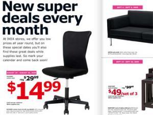 IKEA раскритиковали за шрифт рекламного каталога