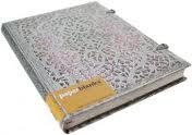 """Самый популярный дизайн блокнота за 20-летнюю историю бренда Paperblanks – """"Blush Pink"""" из коллекции """"Серебряная филигрань"""""""