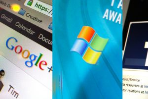 Microsoft против Facebook и Google