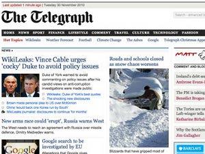 Сайт The Daily Telegraph сделают частично платным