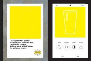 Сеть пабов Fuller's разместила в Лондоне пустые плакаты со скрытой рекламой пива