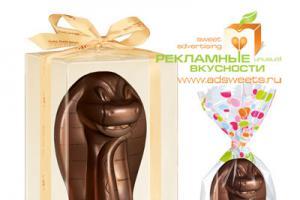Шоколадная фигурка - змея станет популярным новогодним подарком 2013