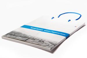 Буклет для «Brunswick Rail» от студии дизайна EPS Creative— когда «быстро» значит «качественно»