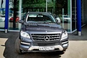 Новый Mercedes-Benz ML уже в дилерском центре «Звезда Столицы»