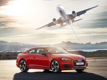 АЦ Беляево и «Аэрофлот» дарят бонусы при покупке Audi A5