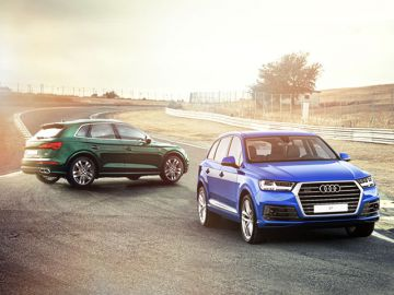 quattro weekend: приключения под знаком Audi