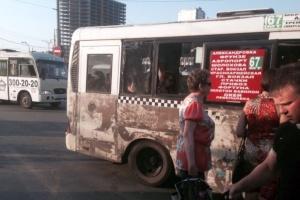Ростовчане пожаловались на неприглядный вид автобусов после снятия рекламы