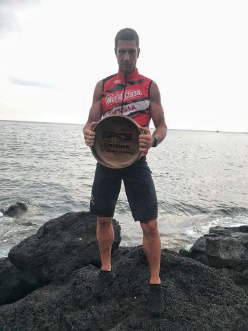 Спортсмен из Санкт-Петербурга стал первым из России, кто преодолел 5 IronMan за 5 дней.