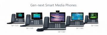 Инсотел: Yealink расширяет линейку Gen-next Smart Media Phones T5 новыми моделями T54S и T52S