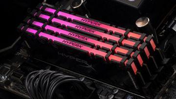 HyperX представила первые в мире модули памяти DDR4 с RGB-подсветкой и синхронизацией при помощи инфракрасного излучения