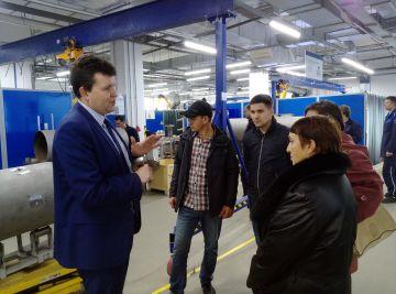 КРОНЕ демонстрирует уникальные производственные возможности своего предприятия в Самаре специалистам из Тольятти.