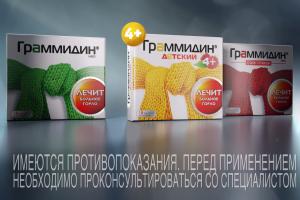 Граммидин®: долой острую боль в горле