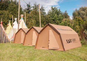 Инновационная экологичная палатка KarTent и Smurfit Kappa удостоена премии Red Dot Awards