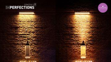 Л'Этуаль показала, как скрывает все несовершенства, используя кирпичную стену