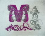 Вышивка на махровых полотенцах