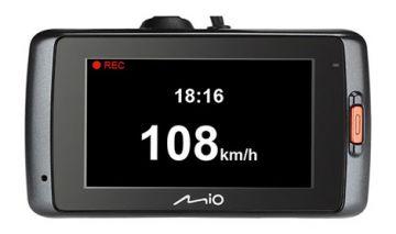«Хранитель экрана» в видеорегистраторах Mio  делает поездку за рулем безопасной