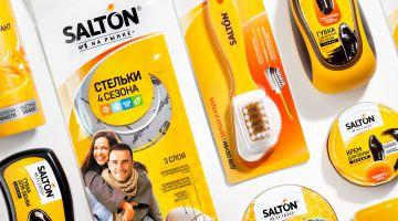 Агентство UPRISE провело редизайн бренда SALTON