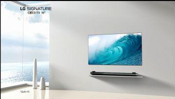 LG ELECTRONICS запускает телевизионную рекламную кампанию на OLED телевизор LG OLED65W7V ультра премиум бренда LG SIGNATURE