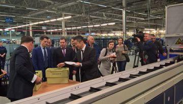 Почта России запустила новую сортировочную линию Toshiba в Санкт-Петербурге