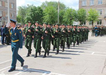 Новобранцы в Ставрополе принесли клятву Отечеству