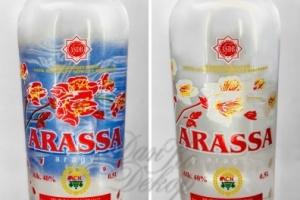 Изысканный декор для туркменской водки ARASSA
