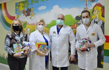 Благотворительная акция «1000 книг – 1000 улыбок» шагает по России