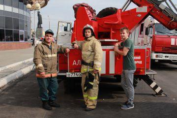 Сотрудники конгресс-отеля «Маринс Парк Отель Нижний Новгород» приняли участие в показательных пожарно-тактических учениях