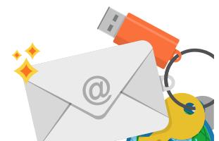 REG.RU поздравляет с Днём рождения электронной почты!