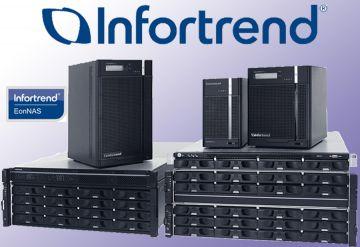 Infortrend представляет облачно-интегрированные сетевые видеорегистраторы и предлагает бесплатные лицензии на IP-камеры