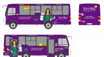 Новый образ Familia на автобусах ПТК