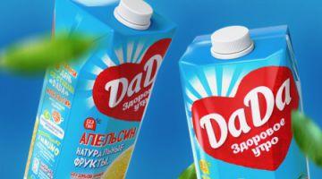 Соки DaDa: лучшее начало дня