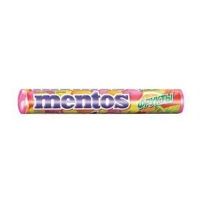 MENTOS с логотипом в роллах
