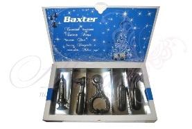 Набор медицинских инструментов из шоколада с логтипом